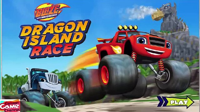 Blaze and the Monster Machines - Blaze: Dragon Island Race