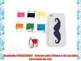 ThumbsUp IP4CASCROSS - Carcasa para iPhone 4/4S con hilos para punto de cruz