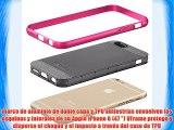 Vena Apple iPhone 6 / 6s (47) Funda [vFrame] Marco de aluminio de doble capa Shell cubierta