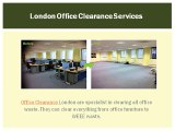 Eco-Friendly Office Clearance Services