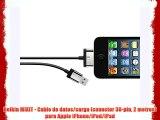 Belkin MIXIT - Cable de datos/carga (conector 30-pin 2 metros) para Apple iPhone/iPod/iPad