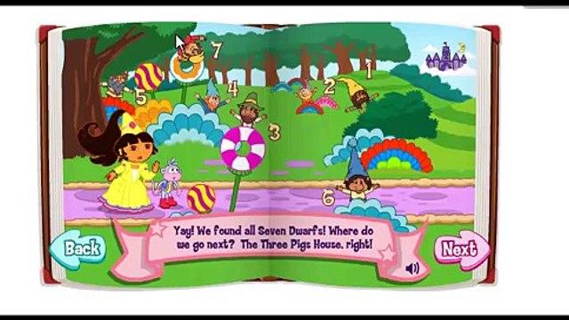 Dora The Explorer - Doras Fairytale Fiesta Game Video 01
