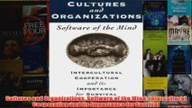 Download PDF  Cultures and Organizations Software of the Mind Intercultural Cooperation and its FULL FREE