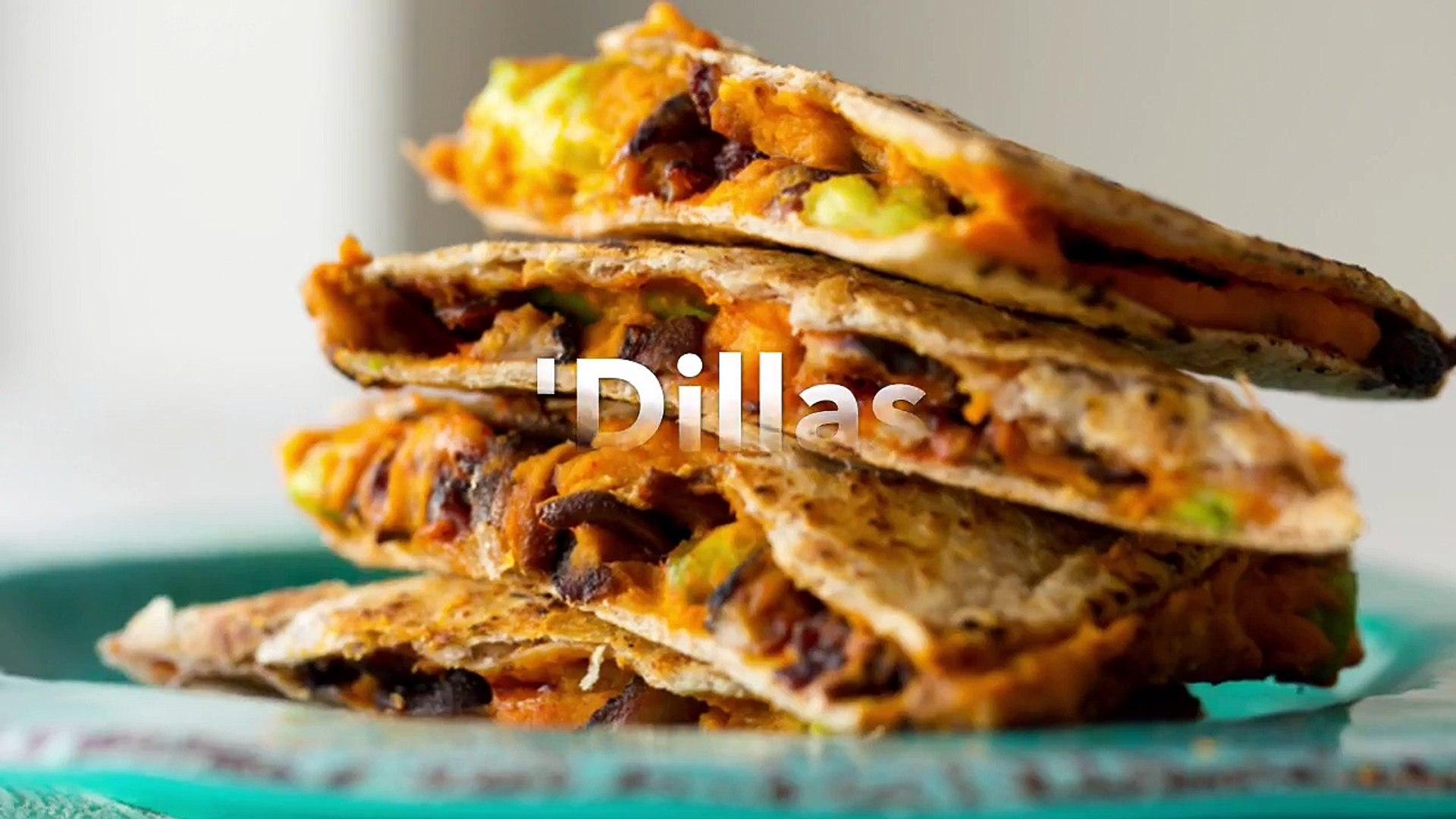 Vegan Hummus 'Dilla