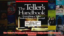 Download PDF  The Tellers Handbook Everything a Teller Needs to Know to Succeed FULL FREE