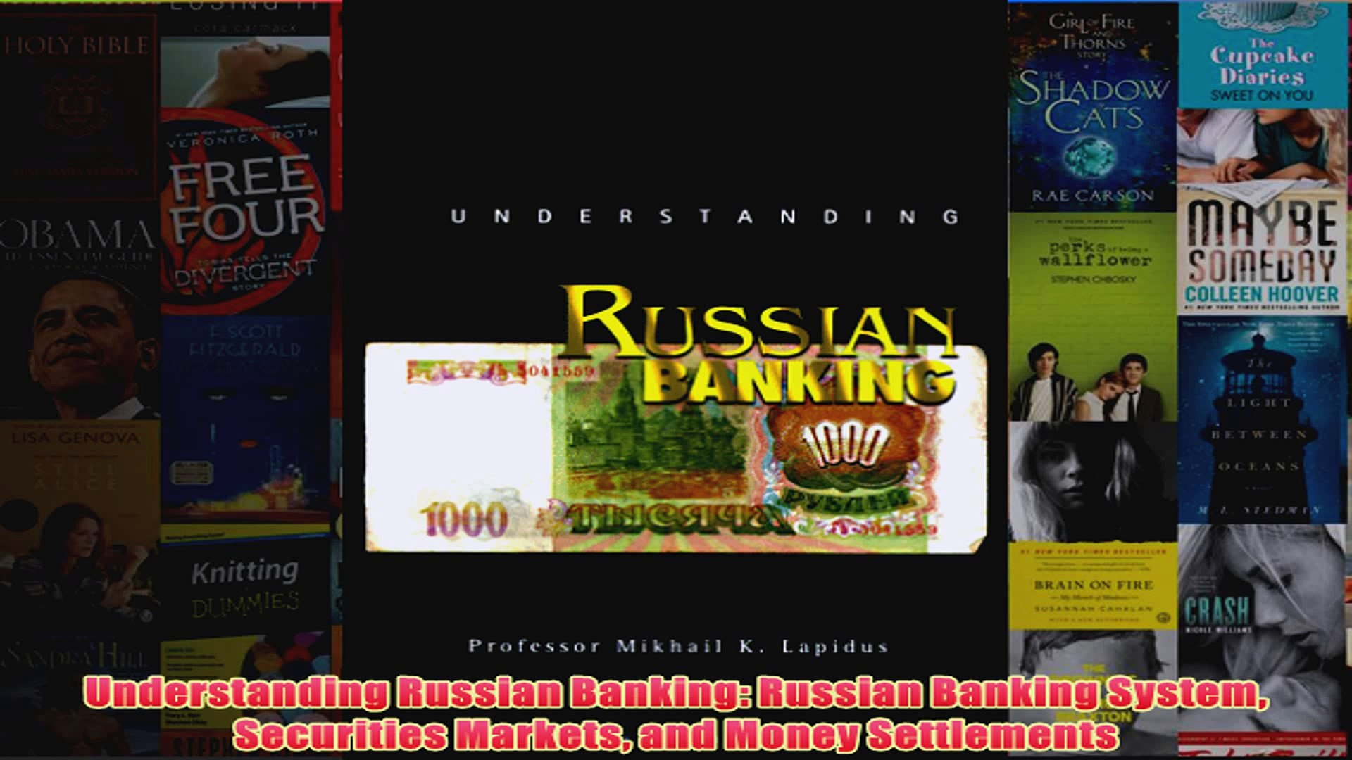 Download PDF  Understanding Russian Banking Russian Banking System Securities Markets and Money FULL