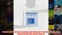 Download PDF  Review of Electricity Supply and Demand in Southeast Europe World Bank Working Papers FULL FREE