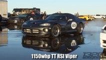 1300hp TT Lambo vs 1150hp TT Viper - Texas Invitational