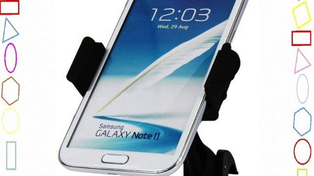 Luxburg® soporte coche tamaño regulable para Samsung Galaxy S4 / S4 mini / Note 3 / S3 / S2