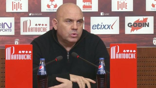 Foot - L1 - LOSC : Antonetti «Avec Bordeaux et Paris, c'est nous qui avons le plus joué !»