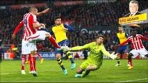 Stoke City 3-2 Arsenal-İNGİLTERE PREMİER LİG MAÇ ÖZETİ-HD