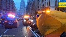 Fallecen dos personas en dos accidentes en Madrid
