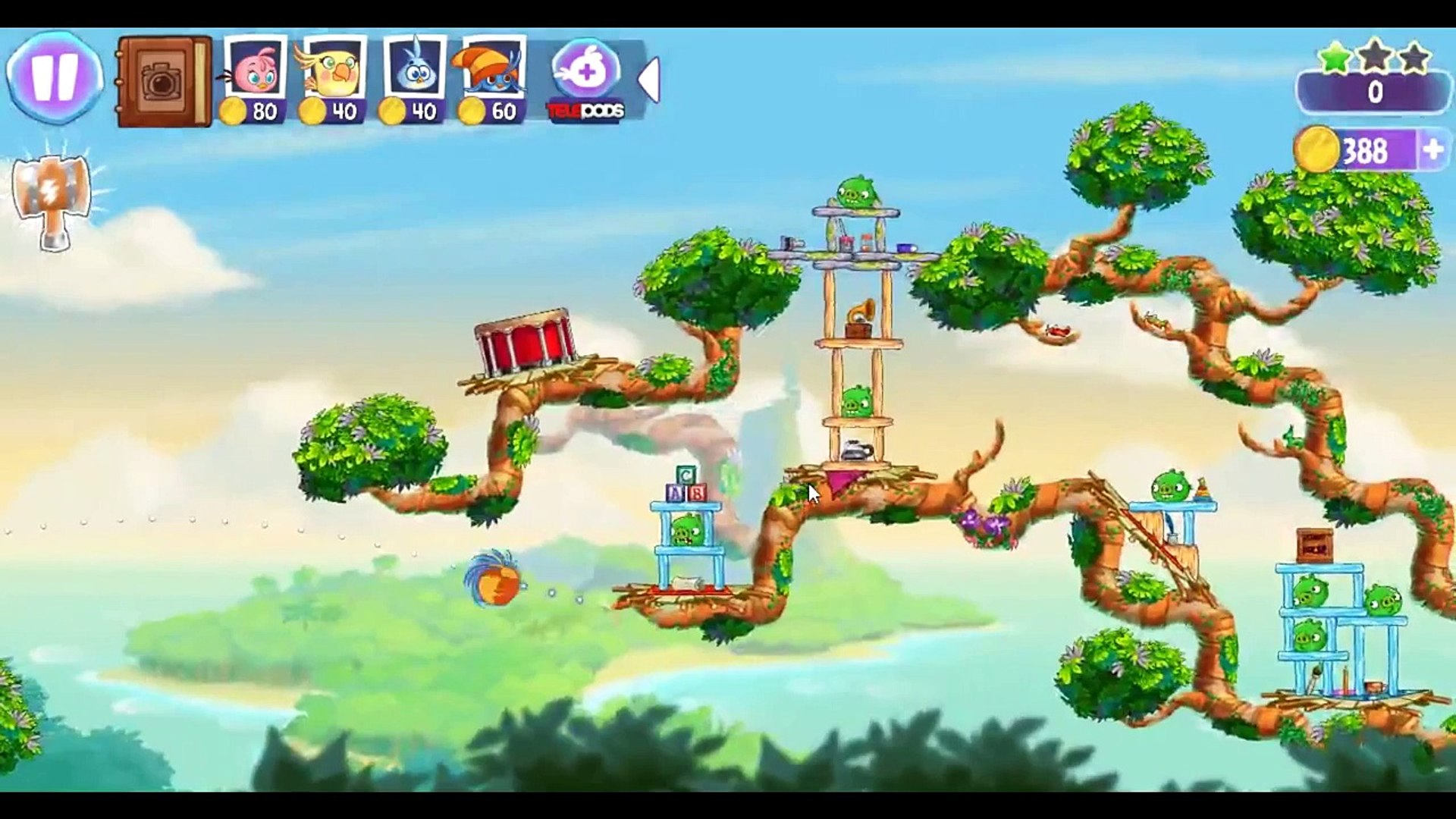Angry Birds Stella Level 43 ★★★ Walkthrough Episode 1