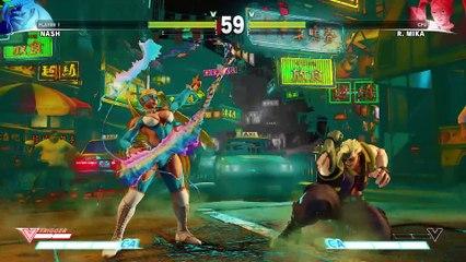 SFV  Character Introduction Series - Nash de Street Fighter V