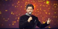 Shahrukh Khan & Irrfan Khan fight - 61st Filmfare awards 2016