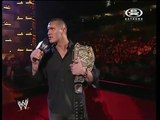 WWE RAW 11-19-2007 Chris Jericho powrót do WWE - PL