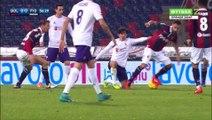 Matías Fernández Red Card FiorentinaItaly  Serie A - 06.02.2016, Bologna FC 0-0 Fiorentina