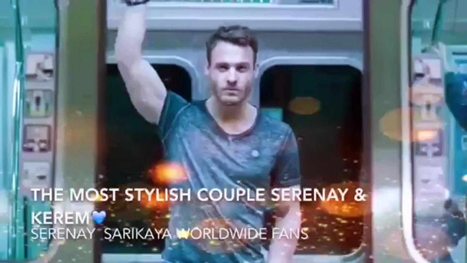 The most stylish Couple Serenay & Kerem in Mavi