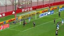 Gol de Bogado (e/c). Huracán 0 - Rafaela 1. Fecha 1. Torneo Transición 2016