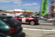 Honda Civic VTI Vs. Alfa Romeo GTV 3.0 V6 Drag Race