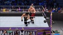Sting vs Brock Lesnar-Wrestlemania 32 (No Holds Barred Match!)