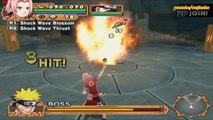 Naruto Uzumaki Chronicles 2 Walkthrough Part 22 Naruto Master Puppet Will Boss Fight 60 FPS