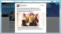 Ryan Reynolds & Blake Lively Are All PDA on Deadpool Throne