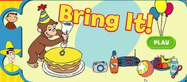Curious George Prepare alone a great Party, this Monkey is a special animal! English