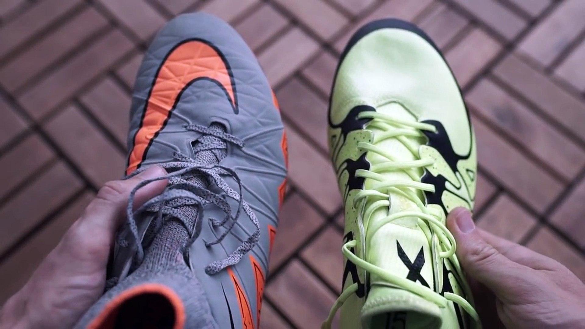 Lewandowski VS Diego Costa Boot Battle: Nike Hypervenom 2 vs. adidas X15 Test & Review