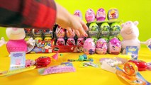 Unboxing 5 SURPRISE EGGS! My Little Pony, Moshi Monsters, Hello Kitty And Disney Princess