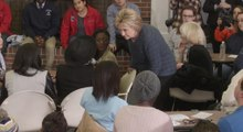 Hillary Clinton responds to student's question about being 'boring'