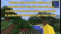 Pichu Plays Minecraft FTB Unleashed - Ep1 - Pokemon Den