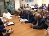 Gandhinagar MOU between UK and Gujarat government signed by Nitin Patel