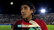"""Montoya: """"Vale muchísimo la victoria"""". Huracán 0 - Rafaela 1. Fecha 1. Torneo Transición 2016."""