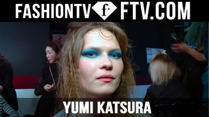 Yumi Katsura SS16 Hair & Makeup Paris Haute Couture Week | FTV.com