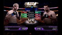 EA Sports UFC : Enter the Octagon and Fight ! (Learning How to Fight ios gameplay)