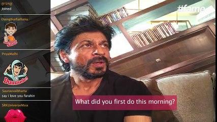 SRK & AbRam's Morning Masti | #SRKLiveOnFame