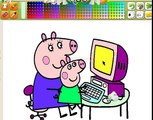 Peppa Pig En español VideoJuego Peppa La Cerdita 2014 Latinoamerica Dibujos de color De peppa