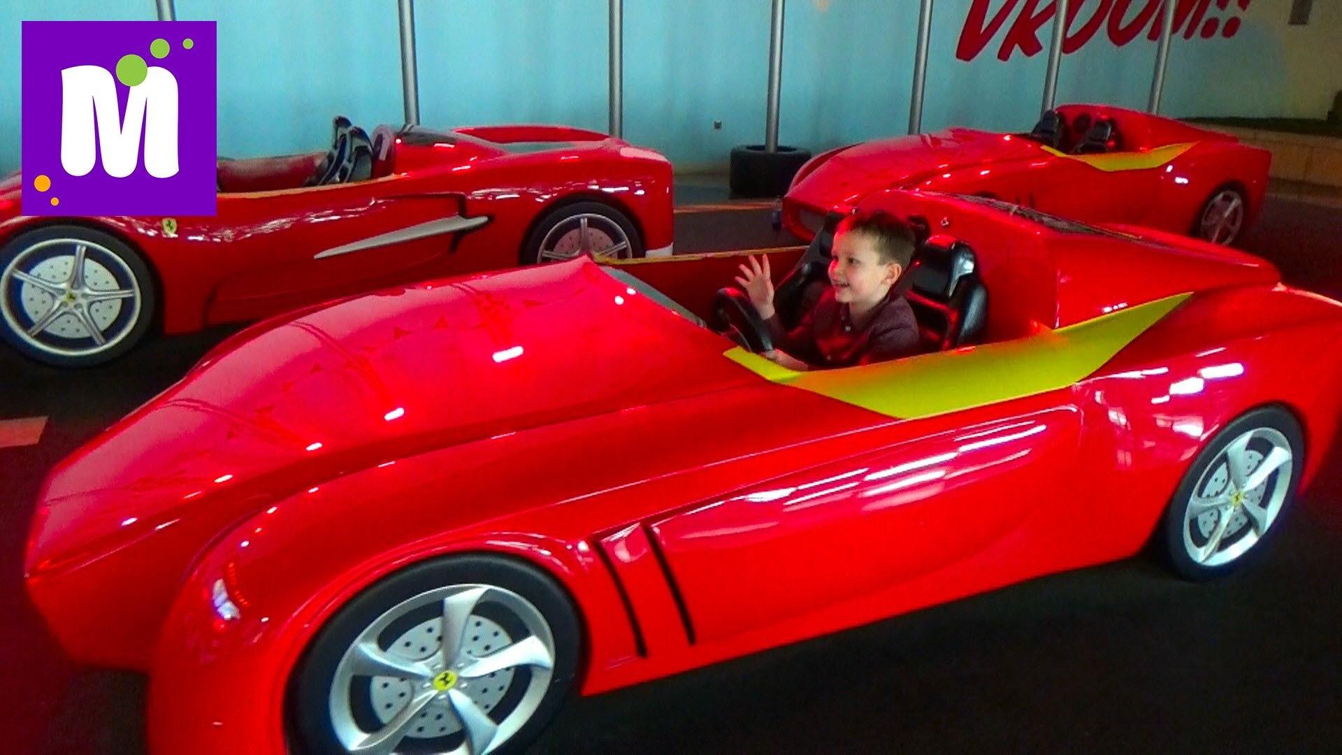 Дубаи #9 День Рождения Макса едем на Феррари в Ферари Ворлд Абу Даби Ferrari World Abu Dabi