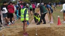 Meeting athlétisme organisé par les enseignants d'EPS du lycée Descartes