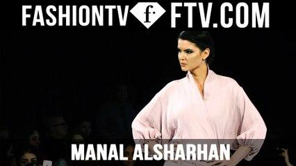 Manal AlSharhan MBFW Doha 2015 | FTV.com