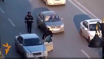 NEW Russian Police Takes Bribes 2013. How Russian Police Makes Money. Watch only in Russia 2013