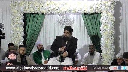 Bulbuley-e-Madina Owais Raza Qadri Honorable Speech In UK Mehfil-e-Naat