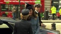 Kate Middleton, marraine des Cadets de l'Air, assiste à une cérémonie-anniversaire