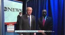 Ben Carson plombe l'entrée en scène des candidats lors du débat des républicains