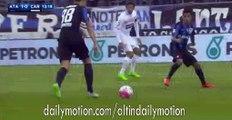 Atalanta 1st Big Chance - Atalanta vs Carpi - Serie A - 07.02.2016