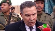 انتهاء أشغال إقامة الساتر الترابي على الحدود التونسية الليبية