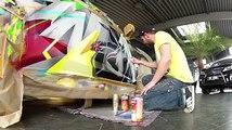 La voiture caméléon La peinture qui rend votre voiture futuriste