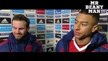 Chelsea 1-1 Manchester United - Juan Mata & Jesse Lingard Post Match Interview -