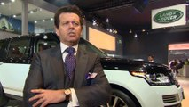 Jaguar Land Rover at the Delhi Motor Show 2016 - Interview Gerry McGovern, Chief Design Officer